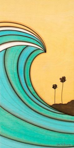 Hand signed giclee print on cotton rag acid free paper The image is available in three sizes. Small Canvas Art, Diy Canvas Art, Parking Spot Painting, Arte Black, Retro Surf, Surfboard Art, Surf Art, Ocean Art, Beach Art