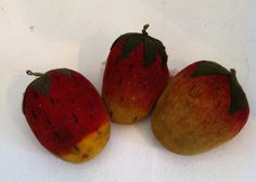 Rare & Fantastic 19thc Velvet Therom Fruit Collection On Compote image 5