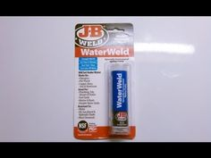 J-B WaterWeld Test & Review jbweld.com  #WorldsStrongestBond