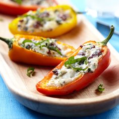 Mediterranean Stuffed Sweet Peppers