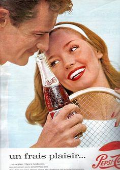 1964 Pepsi-Cola advertisement.