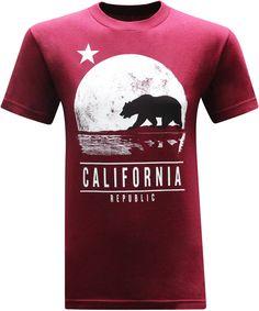 California Republic Moonwalk Men's T-Shirt