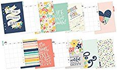 Simple Stories - Carpe Diem - Posh Collection - Monthly Inserts - 24 pieces - 4954 monthly tabbed 180 gsm dividers and monthly 180 gsm calendar pages. Free Planner, Monthly Planner, Happy Planner, Printable Planner, Prima Planner, Free Printables, Simple Stories, Carpe Diem Planner, Calendar Pages