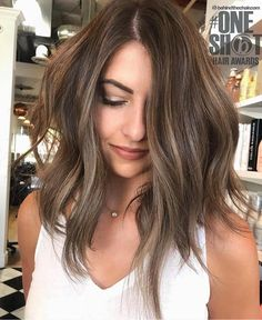 brunette hair The SANDY Collection (SWIPE gt; to see her before look) FORMULA in previous post. Light Brown Hair, Dark Hair, Sandy Brown Hair, Pretty Brown Hair, Longbob Hair, Medium Hair Styles, Short Hair Styles, Hair Medium, Bleached Hair