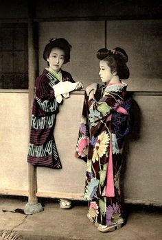 GEISHA WITH A STUMP LEG and a STONE SHOE in OLD JAPAN by Okinawa Soba, via Flickr