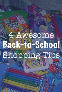 Are you ready to go back to school? There are only a few weeks of summer left, and the back to school sales are in full swing!