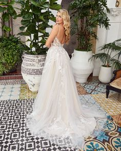 Style BL354 Callie | Romantic Boho Lace Wedding Dress from Beloved by Casablanca Bridal | Beloved By Casablanca Bridal Bridal And Formal, White Bridal, Boho Wedding Dress, Lace Wedding, Affordable Wedding Dresses, Unique Dresses, Glam Dresses, Bridal Boutique, Bridal Gowns
