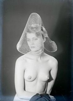 """Attributed to Man Ray """"Fairground"""" Photo postcard c. 1930 Man Ray """"Portrait of Lee Miller"""" Gelatin silver print c. Lee Miller, Martha Graham, Man Ray, Muse, Brassai, Great Photographers, The New Yorker, Photo Postcards, Erotic Art"""
