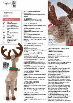 42 Ideas Knitting Toys Alan Dart For 2019 Knitting Machine Patterns, Crochet Dolls Free Patterns, Christmas Knitting Patterns, Craft Patterns, Knit Patterns, Simply Knitting, Free Knitting, Knitting Toys, Knitting Projects