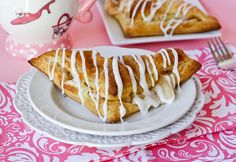 Apple Cinnamon Cream Cheese Turnovers