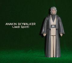 ANAKIN SKYWALKER SPIRIT version 2.0 Anakin Skywalker, Product Page, Custom Action Figures, Studio S, Star Wars, Spirit, Vintage, Vintage Comics, Starwars