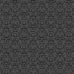 Scrolls design - graphite fabric by ravynka on Spoonflower - custom fabric
