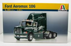 Ford Aeromax 106 Truck Tractor Italeri 3891 1/24 New Plastic Model Kit - Shore Line Hobby