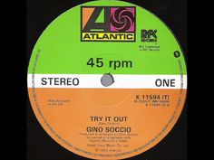 Funk-Disco-Soul-Groove-Rap: Gino Soccio-Try It Out