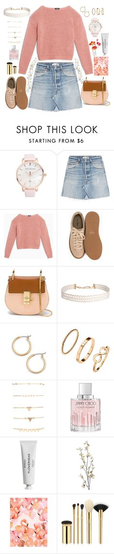 """""""Loud House"""" by anishagarner ❤ liked on Polyvore featuring Ted Baker, RE/DONE, Max&Co., Nly Shoes, Chloé, Humble Chic, Nordstrom, H&M, Jimmy Choo and Byredo"""
