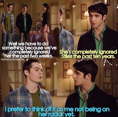 It's all about Lydia for Stiles... <3
