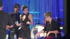 Justin Bieber Falls On Stage During Purpose Tour - VIDEO