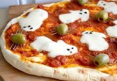 Spooky ghost pizza recipe : 食べてみたい?グロテスクでもかわいい、ハロウィンパーティーフードアイデア。 - NAVER まとめ