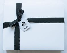 We love hand gift wrapping our bedding! We think there is nothing nicer than getting a pretty box from in the mail!
