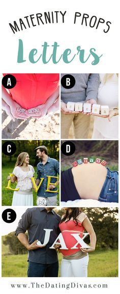 Maternity Photography Inspiration Including Fun Prop Ideas