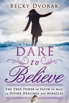 Dare to Believe by Becky Dvorak  #Dare  Empowered to Heal Where do sickness and disease come from, and what can we do about it? In this book, Becky Dvorak conveys a clear message from Scripture - human beings have been created in the mirror image of the Father, Son, and Holy Spirit....