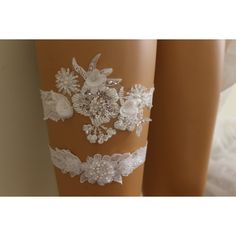 FREE SHİP Wedding Garters,İvory Lace Bridal Garter,Lingerie,Bridal... ($25) via Polyvore featuring intimates, lacy lingerie, bridal lingerie, bride lingerie, lace lingerie ve lace bridal lingerie