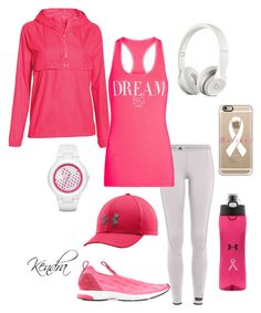 """""""Dream BIG"""" by k1974johnson1117 ❤ liked on Polyvore featuring adidas, adidas Originals, Under Armour, Casetify and Lorna Jane"""