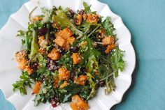 Switch up your lunch game with #VeganSmart team member, Karli Manson's roasted sweet potato and quinoa salad!