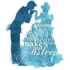 A Dream is a Wish Cinderella 8x10 Poster DIGITAL DOWNLOAD Instant... ❤ liked on Polyvore featuring home, home decor, disney and disney home decor