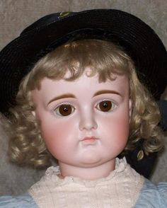 """27"""" Kestner Pouty ~ 8-Ball Body ~ Antique Clothing"""
