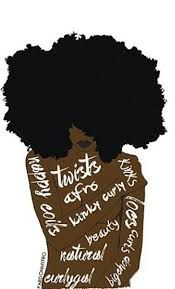 Image result for afro hair art