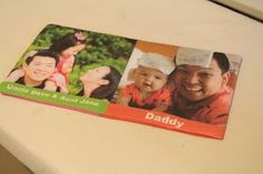 The Experimental Crafter: DIY Baby Photo Album Soft Book