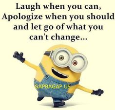Well Said Inspirational Quote By The #Minions