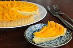 Mangoes are underrated in the baking world. Make them the star with this Thai-inspired mango coconut tart. Snacks To Make, Food To Make, Coconut Tart, Coconut Cream, Mango Tart, Sweet Pizza, Thai Dessert, Layered Desserts, Sweet Pastries