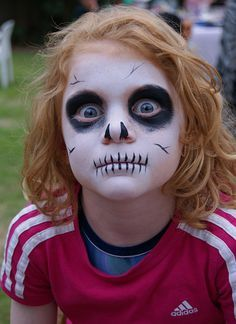 Face Paintings: Face Painting Designs For Kids Halloween