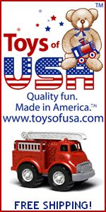 American Made Toys website