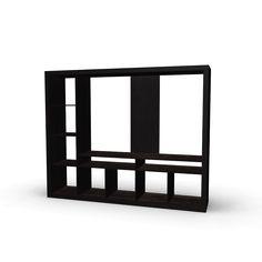 Ikea Lack Shelving Unit Wall Shelving Units, Ikea Shelves, Wall Shelves, Ikea Expedit, Ikea Lack, Best Ikea, New Room, Black And Brown, Bookcase