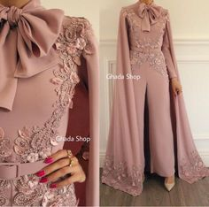 2019 New Arrival Fashion Rompers Dusty Pink Luxury Beaded Lace Evening Dress Panty Formal Dresses 2019 New Arrival Fashion Romper Dusty Pink Luxury Beaded Lace Evening Dress Panty Evening Dresses Pink Evening Dress, Mermaid Evening Dresses, Cheap Evening Dresses, Evening Gowns, Jumpsuit Prom Dress, Hijab Dress Party, White Jumpsuit, Party Gowns, Mode Abaya