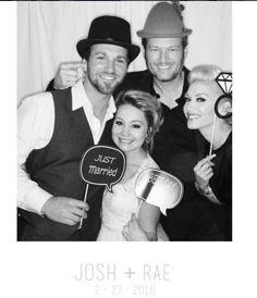 "Celebrity weddings of 2016:     ""The Voice"" winner RaeLynn Woodward and Josh Davis married in Nashville, Tennessee, on Feb. 27. RaeLynn's coach Blake Shelton attended the wedding with girlfriend Gwen Stefani."