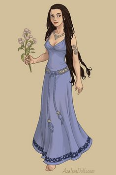 Modified Dolls doll by Aylatha. Lúthien in the woods. Currently not dancing, but that might change at any given moment. Character Costumes, Character Art, Character Design, Paper Dolls Clothing, Mermaid Stories, Luthien, Doll Divine, Cute Art Styles, Medieval Dress