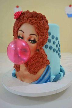 Blowin' Bubbles Cake