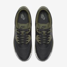 huge selection of 31313 ebae5 Chaussure Nike Air Max 90 Pas Cher Homme Ultra 2 0 Essential Noir Voile Vert  Legion