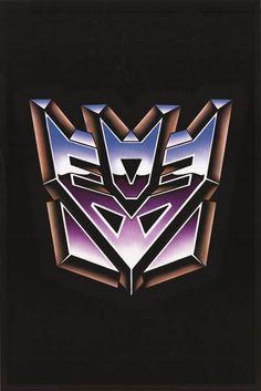 Transformers Decepticon Insignia Poster 24x36