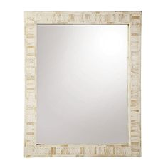 Love this for the bathroom mirror.
