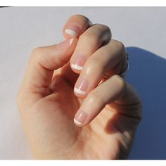 White French Transparent Nail Wraps Fits Shorter Nails (€7,34) ❤ liked on Polyvore featuring beauty products, nail care, nail treatments, bath & beauty, grey, makeup & cosmetics, blow dryer and hair blow dryer