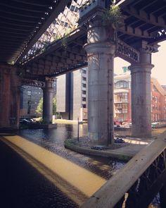 Manchester Castlefield Canal Manchester Uk, Bridges, British, Spaces, City, Frame, Picture Frame, Frames, A Frame