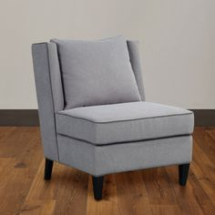 Dexter Accent Chair in Grey Ash