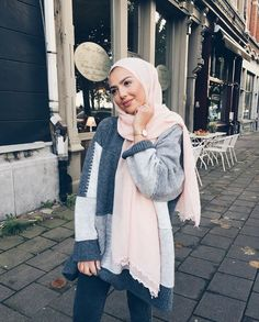 Modest Fashion Hijab, Stylish Hijab, Modern Hijab Fashion, Casual Hijab Outfit, Islamic Fashion, Hijab Chic, Muslim Fashion, Fashion Outfits, Ootd Hijab