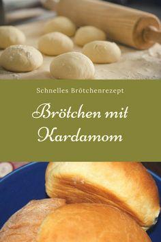 Rezept für Brötchen mit Kardamom: schmecken nicht nur zu Weihnachten und im Advent. #rezept #backen #brötchen