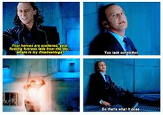 Loki and Agent Coulson